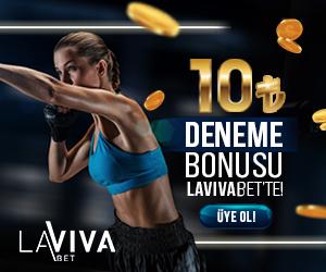 Lavivabet Banner - Deneme Bonusu Reklamı